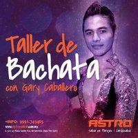 Gary Caballero en Astro Salsa impartiendo bachata.