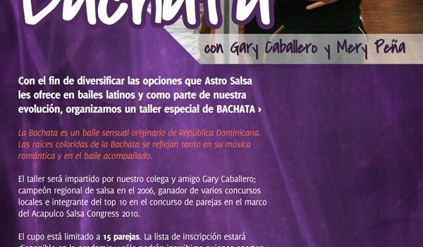 Taller de Bachata en Astro Salsa 1ero de Octubre 2011