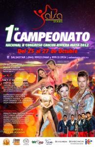 Estaremos presentes representando a Proyecto Amitie en el congreso de salsa en Cancun: Salsa Stars