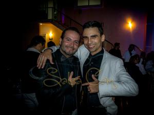 Con el DJ Muñeco Caliente